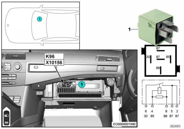 Предохранители бмв е65 (е66) на русском со схемами и таблицами с расшифровкой